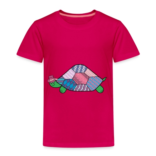 purple tortoise - Kids' Premium T-Shirt