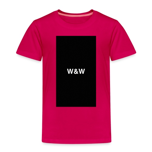 W&W Logo - Kids' Premium T-Shirt
