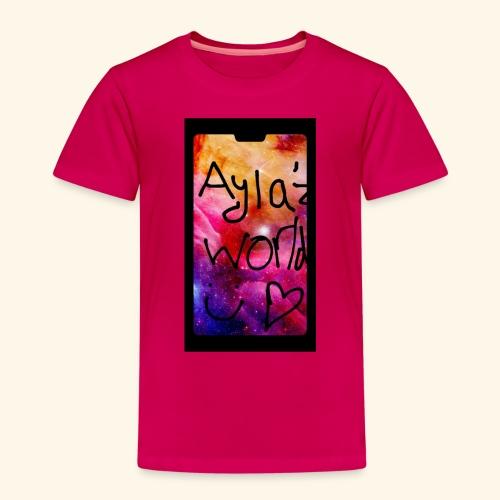 Ayla'z World Galaxy T-Shirt - Kids' Premium T-Shirt
