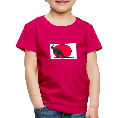 Silhouette Canguro2 - Maglietta Premium per bambini