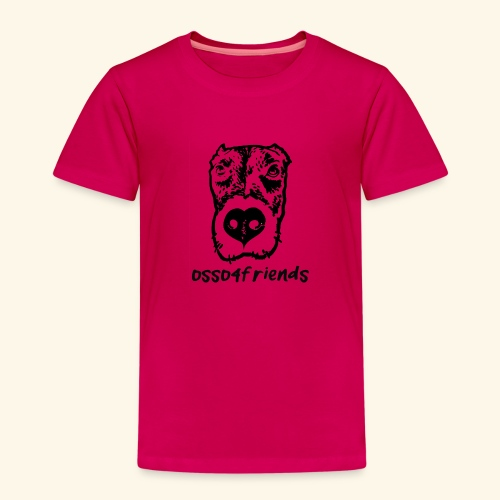 Logo NERO TRASPARENTE creative - Maglietta Premium per bambini