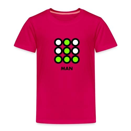 Man - Maglietta Premium per bambini