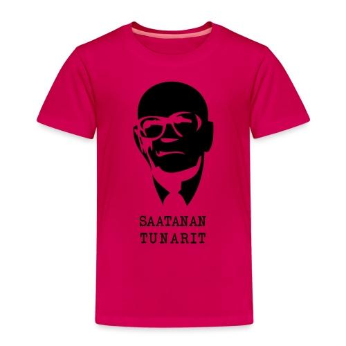 Kekkonen saatanan tunarit - Lasten premium t-paita