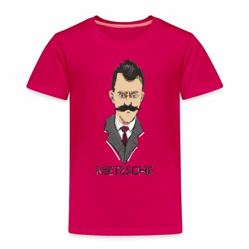 Friedrich Nietzsche - Camiseta premium niño