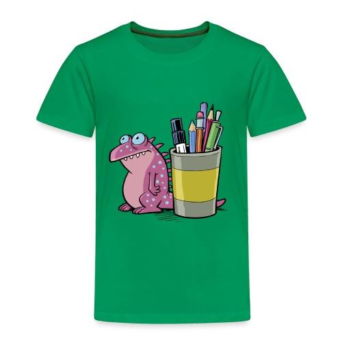 Teenager Premium Langarmshirt Drache - Kinder Premium T-Shirt