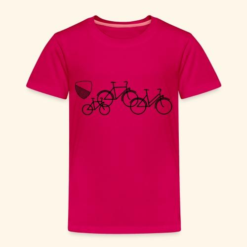 Velostadt Zürich Familie - Kinder Premium T-Shirt