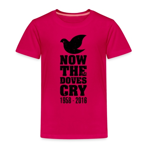 Now The Doves Cry (Retro) - Kids' Premium T-Shirt