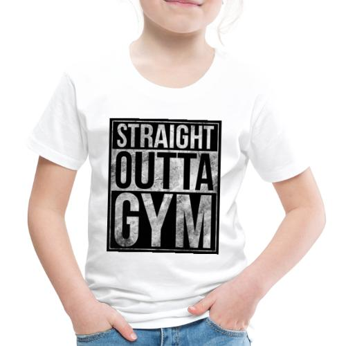 Fitness design - Straight Outta Gym - Kids' Premium T-Shirt