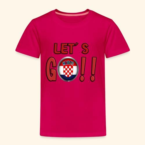 Go Croatia - Maglietta Premium per bambini