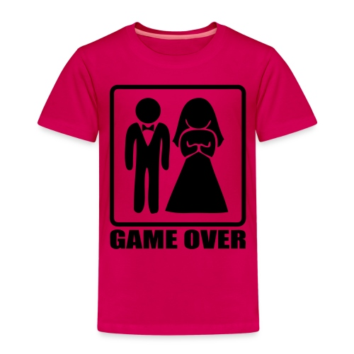 Mariage game over - T-shirt Premium Enfant