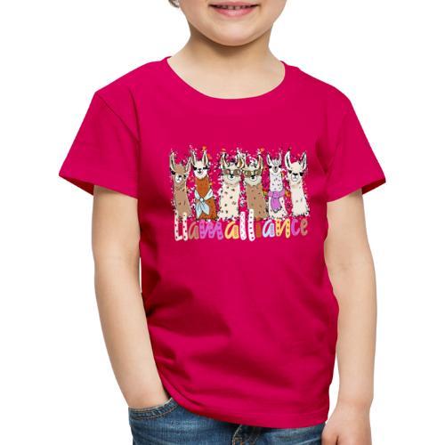 Coole Llamas Kinder und Erwachsene T-Shirt - Kinder Premium T-Shirt
