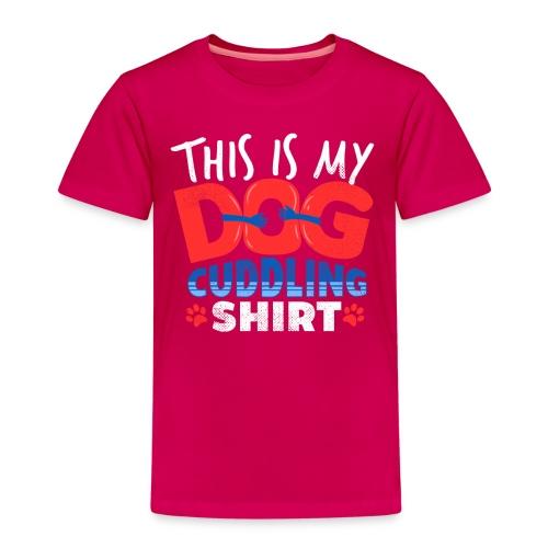 Das ist mein Hundeschmusehemd - Kinder Premium T-Shirt