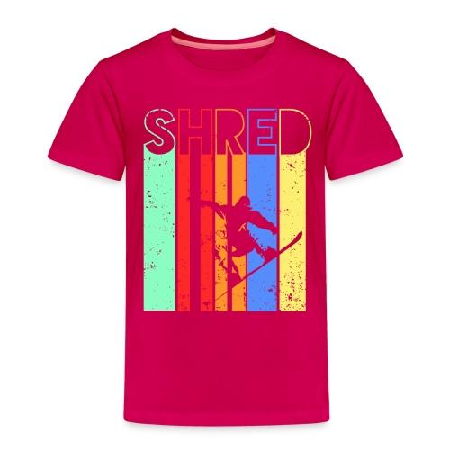Snowboard Fahren Fetzt - Kinder Premium T-Shirt