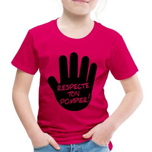respect_ton_pompier - T-shirt Premium Enfant