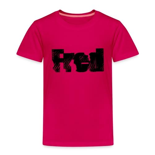 Fred logo - Børne premium T-shirt