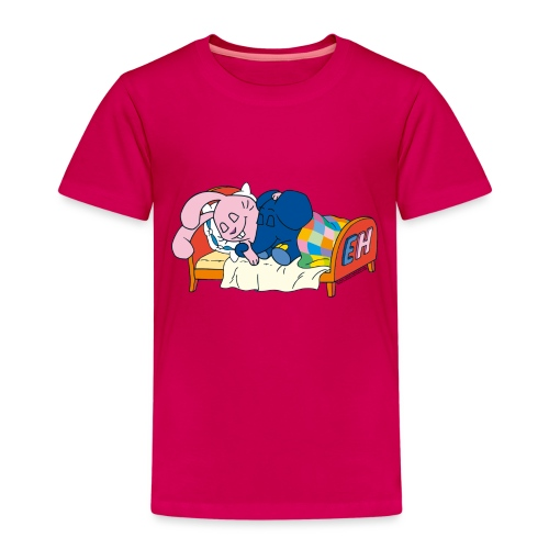 Elefant und Hase - Schlafen - Kinder Premium T-Shirt