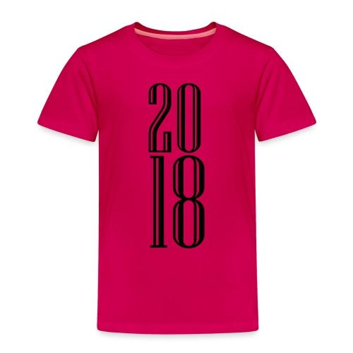 2018 - Camiseta premium niño