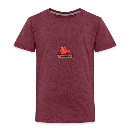 CrimsonAura Logo Merchandise - Kids' Premium T-Shirt
