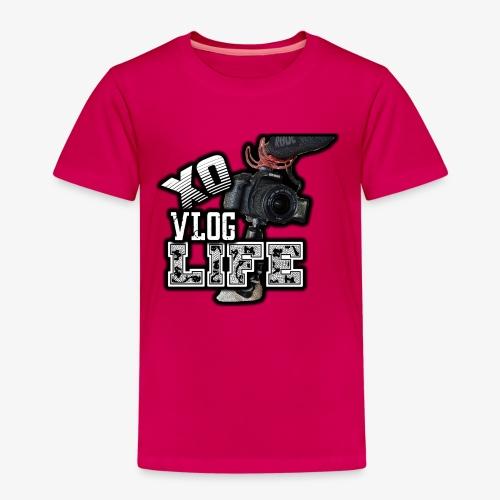 XO VLOG LIFE ! - Kids' Premium T-Shirt