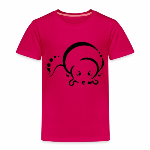 Loutre, design tribal épuré - T-shirt Premium Enfant