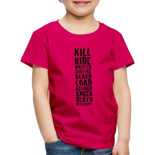 Metal band albums - Kids' Premium T-Shirt
