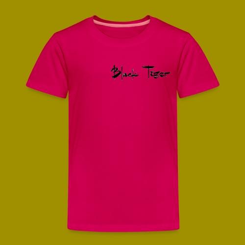 Black Tiger Name - Kids' Premium T-Shirt