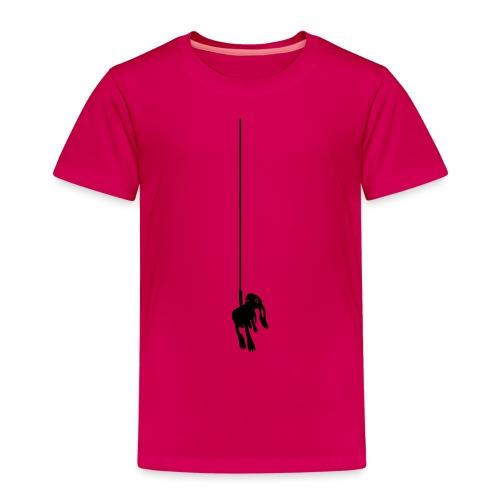 Hase Kaninchen Zwergkaninchen Seil bunny - Kinder Premium T-Shirt