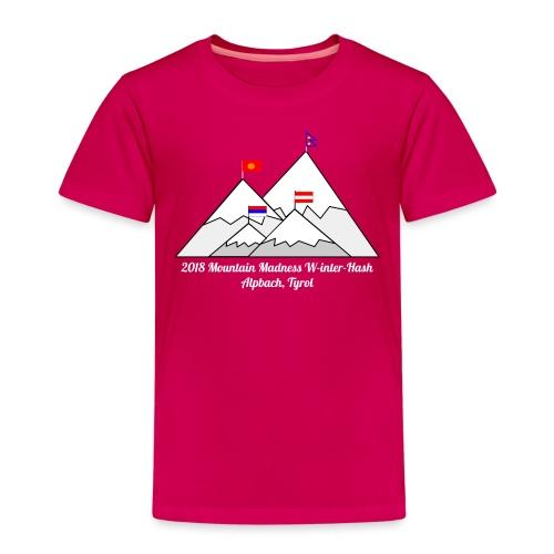 2018 W inter hash logo - Kids' Premium T-Shirt