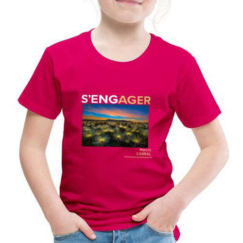 1 Achat = 1 Don Fondation Yann Arthus-Bertrand - T-shirt Premium Enfant