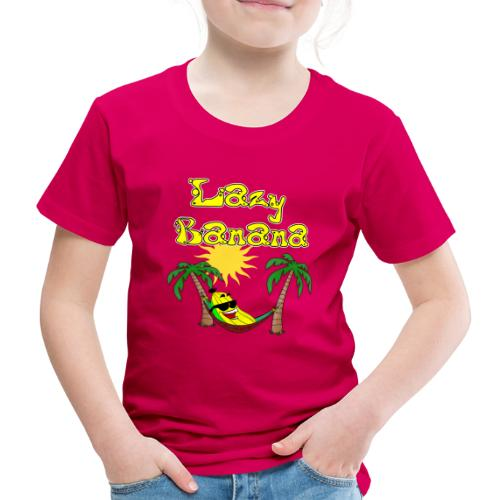 Who is as chilly as the Lazy Banana - Kids' Premium T-Shirt