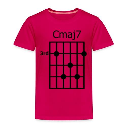Chord diagram Cmaj7 - Kinder Premium T-Shirt