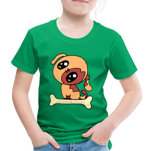 Kawaii le chien mignon - T-shirt Premium Enfant