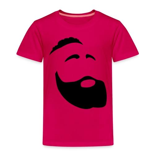 Il Barba, the Beard black - Maglietta Premium per bambini