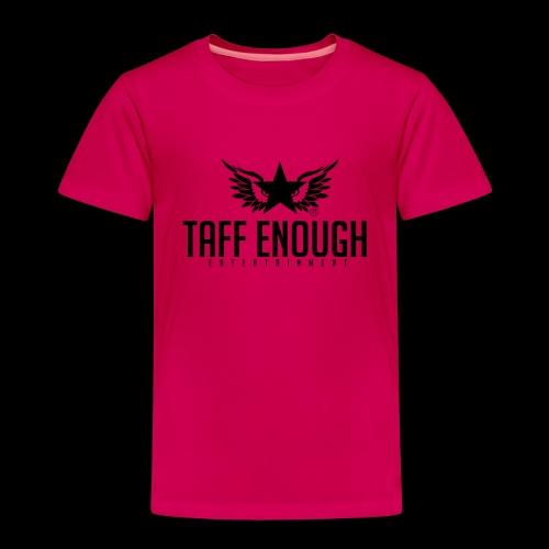 Taff Enough Logo - Kinder Premium T-Shirt