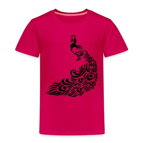 Pfau - Kinder Premium T-Shirt