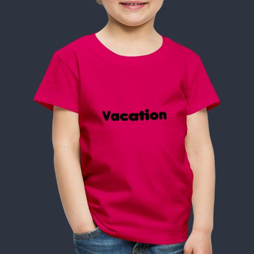 Vacation-MariusLeRoy - Premium-T-shirt barn