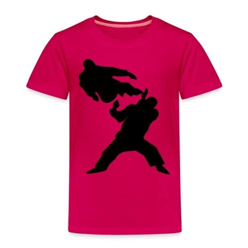 taekwondo ukot - Lasten premium t-paita