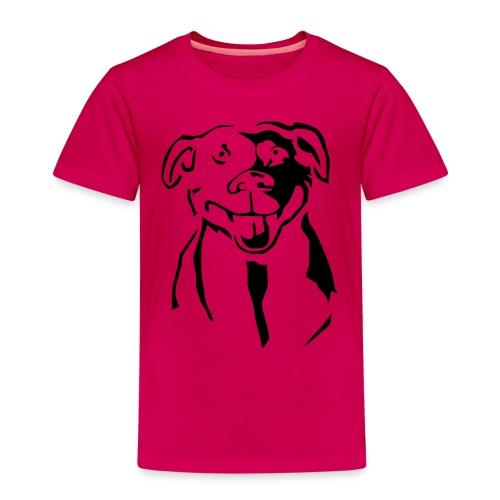 Staffordshire Bull Terrier - Lasten premium t-paita
