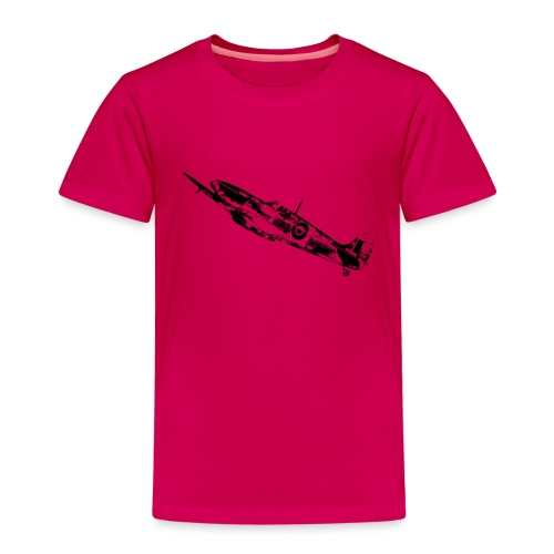 World War Spitfire - Kids' Premium T-Shirt