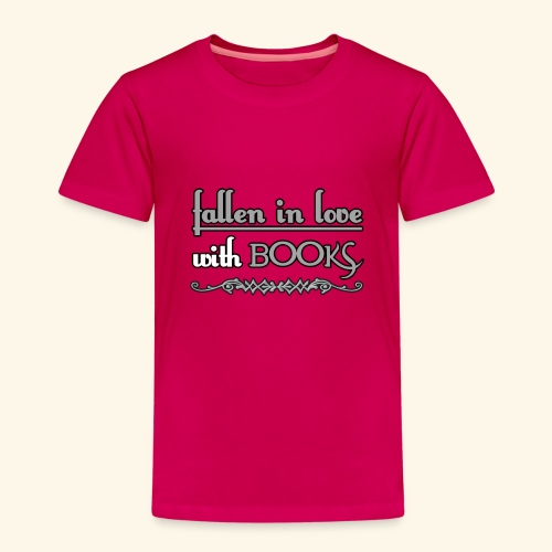 Fallen in Love with Books - Kids' Premium T-Shirt