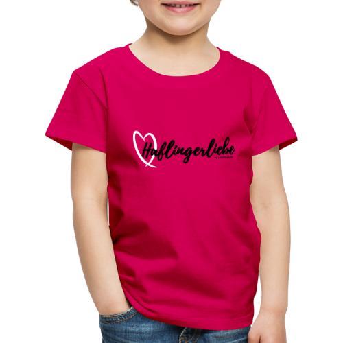 Haflingerliebe - Kinder Premium T-Shirt