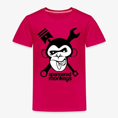 spanneredmonkeys-monkeyface - Kids' Premium T-Shirt