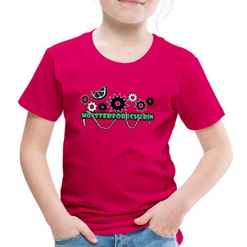 Monsterforscherin - Kinder Premium T-Shirt