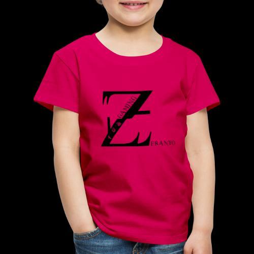 ZerantoLogoBlack - Kinder Premium T-Shirt