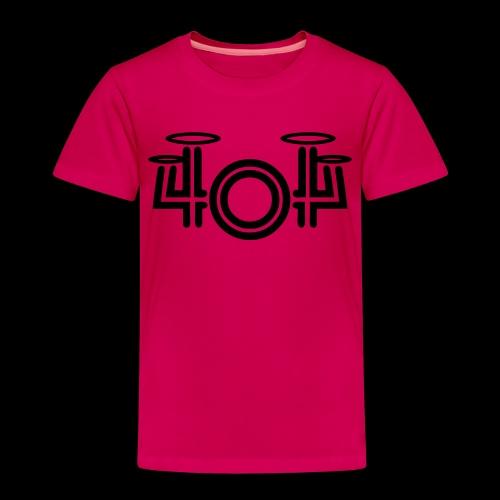 404 black white - Kinder Premium T-Shirt
