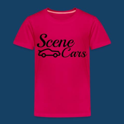 Scene Cars Official Vector Logo - Kids' Premium T-Shirt
