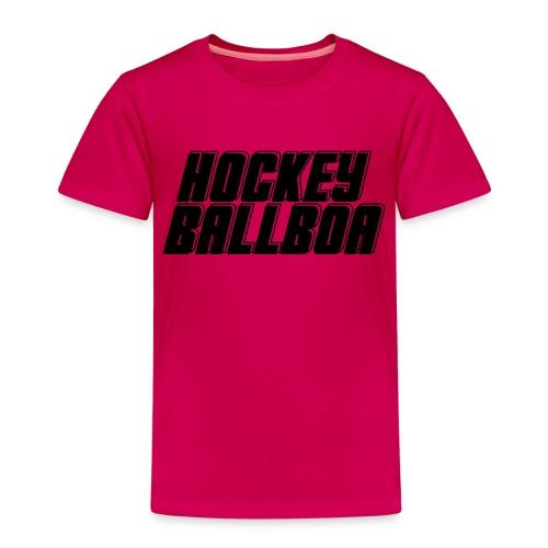 hockey ballboa mittel eine Farbe - Kinder Premium T-Shirt