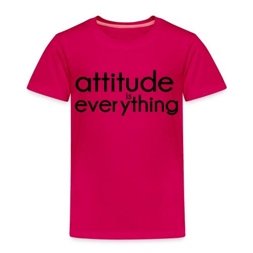 Attitude is everything - Kinderen Premium T-shirt