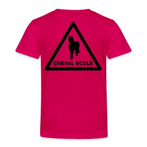 chevalecoletshirt - Kinder Premium T-Shirt