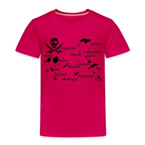 Crewshirt Motiv Griechenland - Kinder Premium T-Shirt